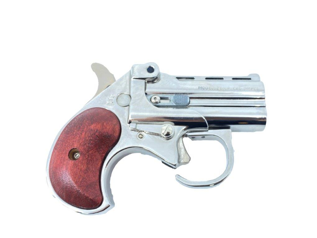 Bearman Derringer Chrome  Cal. .38 Spl.